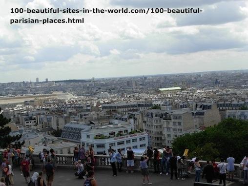 100 Beautiful Parisian Places: Areal View, Paris.
