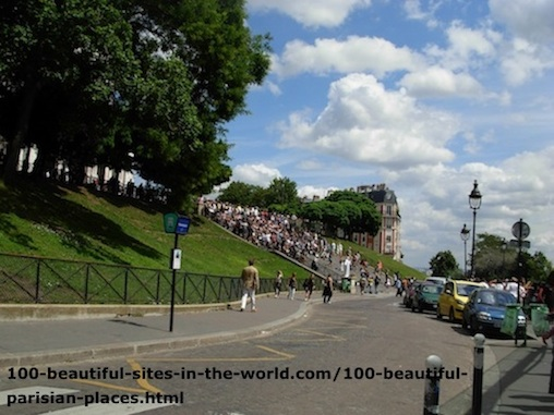 100 Beautiful Parisian Places: Beautiful Scene, Paris.