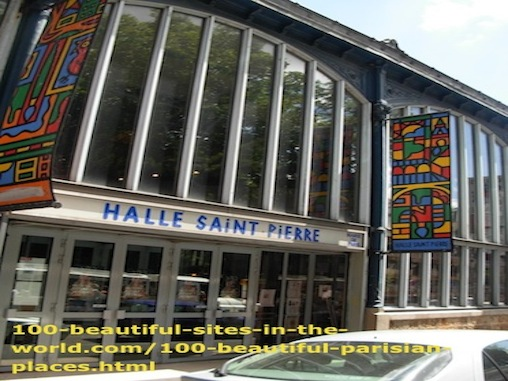 100 Beautiful Parisian Places: Halle Saint Pierre Museum of Arts.