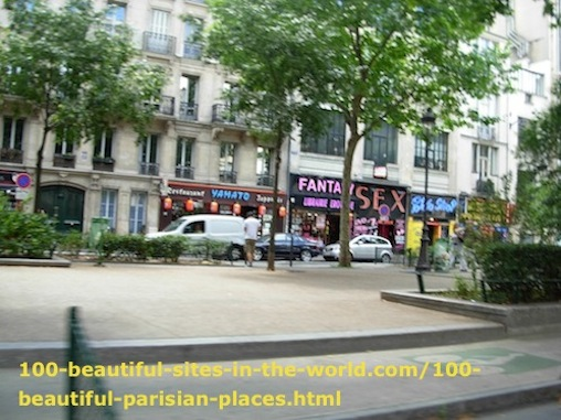 100 Beautiful Parisian Places: View from Shopping Center in Paris.