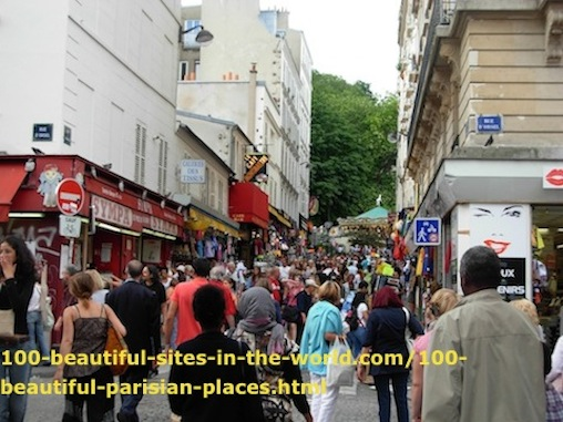100 Beautiful Parisian Place to Tour.