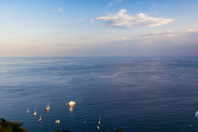 100 Beautiful Ionian Greek Islands: Boats, Ionian Sea.