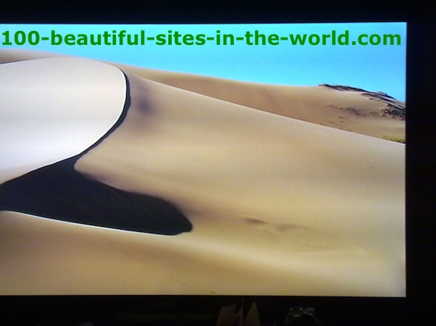 Fearful Beauty of the Sahara. World Environmental Changes.