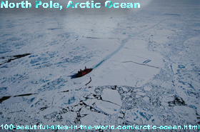 Arctic Ocean, North Pole