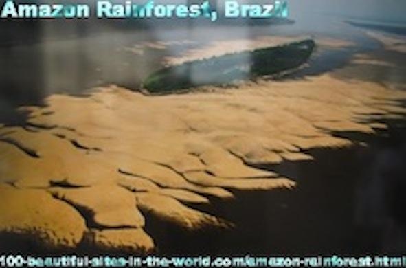 Beautiful Places on the Beautiful Amazon Rainforest, Brazil, Latin America.