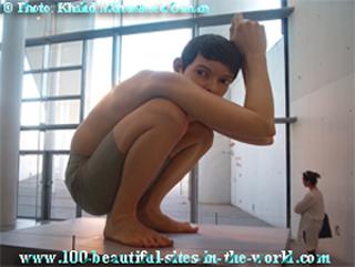Landmark Boy - by Ron Mueck, Aros Museum, Aarhus, Denmark 2