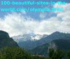 The Beautiful Mount Olympus, Olympia, Greece.