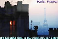 The Beautiful Paris City, France.