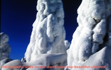 Beautiful Photos: Snow Sculptures 2.
