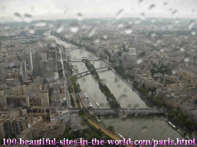 Beautiful Seine River, Paris, France!