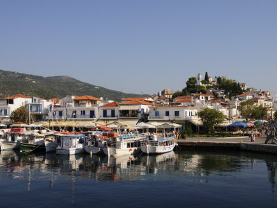 Beautiful Skiathos Island, Sporades Islands, Greece.