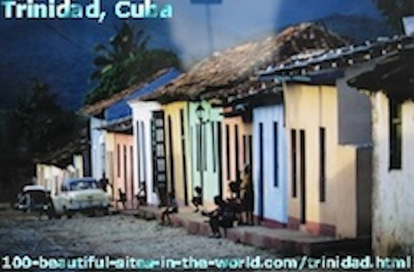 Beautiful Trinidad Attractions, Cuba, Caribbean Sea.