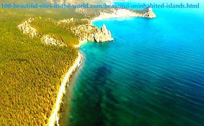 Beautiful Uninhabited Islands and Inhabited Islands