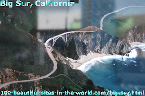 Natural beauty in central California coast called Big Sur. A beautiful place for tourists, adventurers and researchers of species.