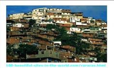 Caracas City, the Capital City of Venezuela.