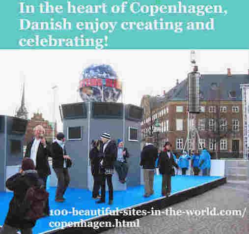 100-beautiful-sites-in-the-world.com/copenhagen.html: Copenhagen: In the Heart of Copenhagen, Danes Enjoy Creating & Celebrating!