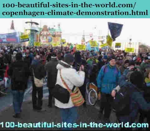 100-beautiful-sites-in-the-world.com/copenhagen-climate-demonstration.html: Copenhagen Climate Demonstration: The masses demonstrated awareness and concerns more than the governments have.