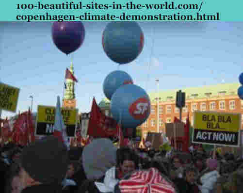 100-beautiful-sites-in-the-world.com/copenhagen-climate-demonstration.html: Copenhagen Climate Demonstration: Socialist Folk Party (SF) is at a climax point and the elections might boost it.