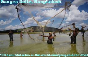 Ganges Delta, Ganges River, Brahmaputra River, Meghna River, Bangladesh