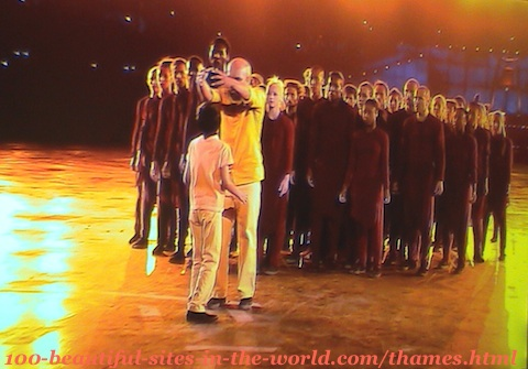 London Olympics 2012. Celebrations and theatre shows