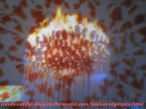 London Olympics 2012. Olympics 205 copper petals