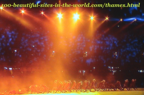 London Olympics shows. London Olympics ceremonies