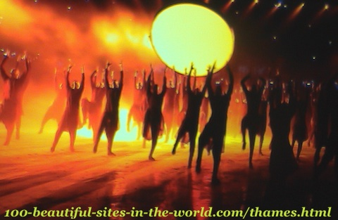 London Olympics 2012. Theatre shows, ceremonies and celebrations