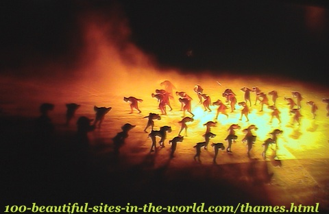London Olympics 2012. Ceremonies, theatrical show