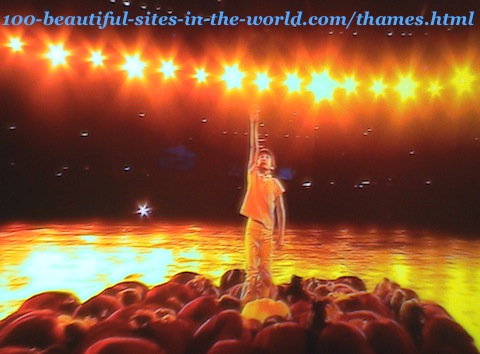 London Olympics 2012. The fine of the theatre shows