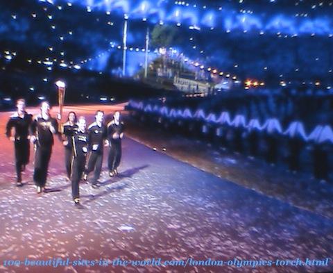 London Olympics 2012. London Olympics-torch ceremony