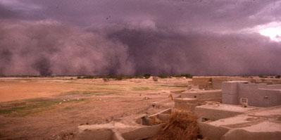 Timbuktu, Mali at Strom