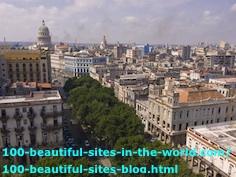 The Old City of Havana, the Capital City of Cuba.