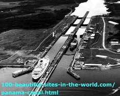 Panama Canal in Panama.