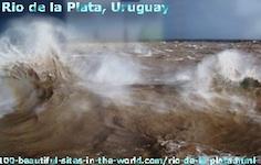 Rio de la Plata in Uruguay