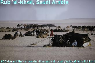 Rub al-Khali's Desert Scene in Saudi Arabia
