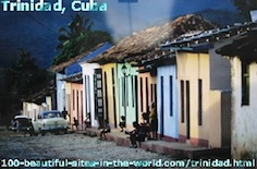 Trinidad, Cuba, the Attraction of the Caribbean Sea.