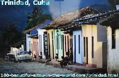 Trinidad Attractions, Cuba, Caribbean Sea