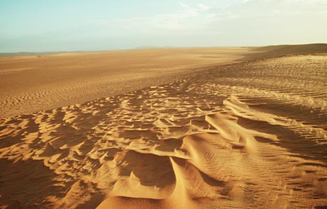 View from the Sahara in Mali