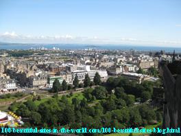 Castle-view from Edinburgh, Scotland