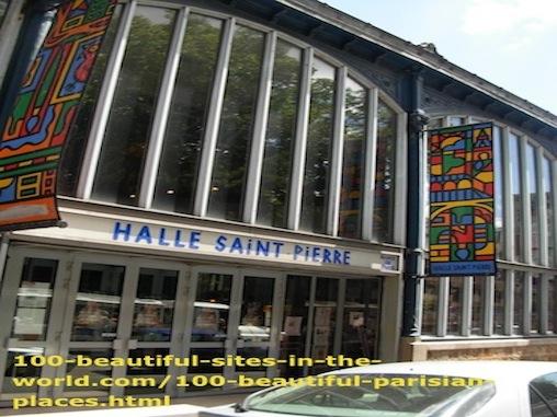 100 Beautiful Parisian Places: Halle Saint Pierre Museum of Arts.