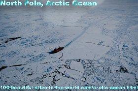 Arctic Ocean, North Pole