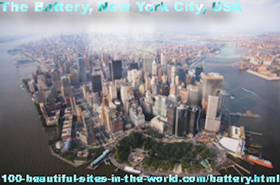 Battery, New York City, USA, America