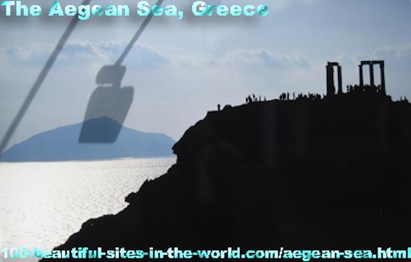 Beautiful Islands on the Aegean Sea, Greece.