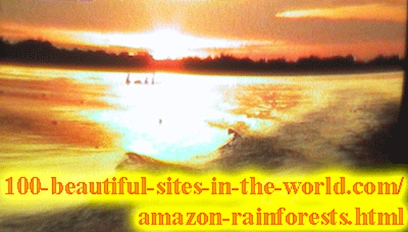 Beautiful Amazonian Photos: The climax of the Amazon colors.
