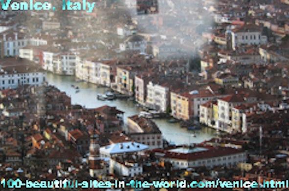Beautiful City of Venice, Venezia, Italy, Adriatic Sea.