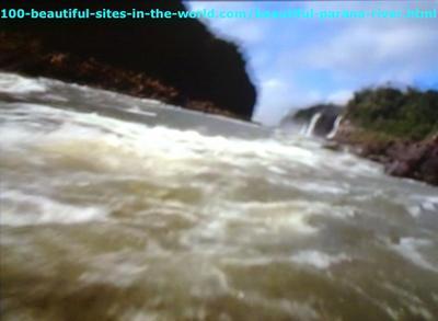 Beautiful Parana River, Amazonia, South America.