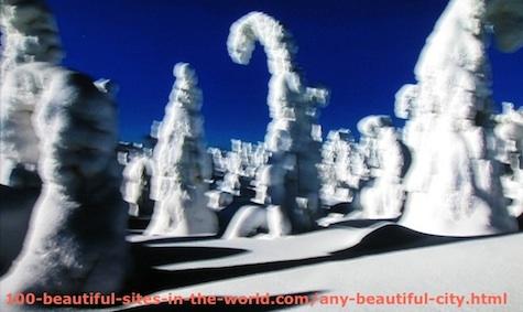 Beautiful Photos: Snow Sculptures 1.