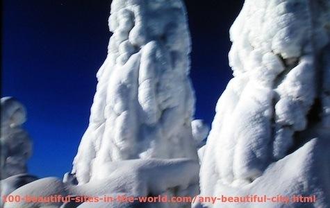 Beautiful Photos: Snow Sculptures 2.