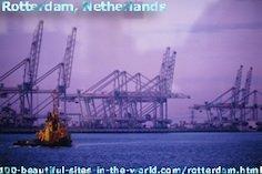The Beautiful Rotterdam City, Holland, Netherlands.