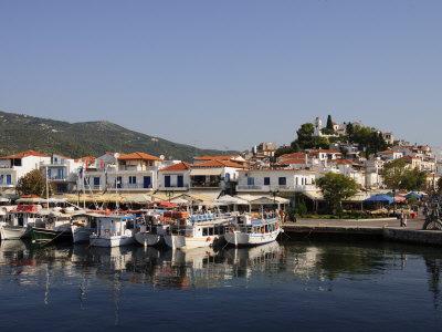 Beautiful Skiathos Island, Sporades Islands, Greece.